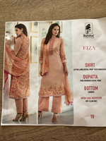 Used Pakistani suit piece (unstitched )  in Dubai, UAE