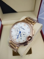 Used CARTIER MENS WATCH GOLD WHITE in Dubai, UAE
