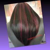 Used HAIR WIG WITH RED HIGHLIGHTS  in Dubai, UAE