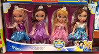 Used 4 Lovely Princess Dolls in Dubai, UAE