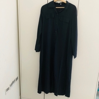Used Ladies frock navy blue size large in Dubai, UAE