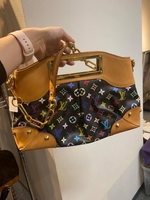 Used Louis Vuitton Black Multicolor Judy GM  in Dubai, UAE