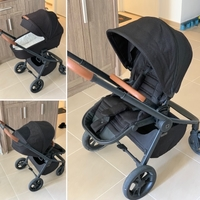 Used Baby stroller 2 in 1 with carrycot  in Dubai, UAE
