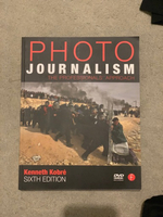 Used Photo Journalism book and DVD by Kenneth in Dubai, UAE