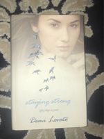 Used Demi Lovato Self help book  in Dubai, UAE