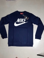 Used Nike Sweat Shirt for Men's- Dark Blue -M in Dubai, UAE