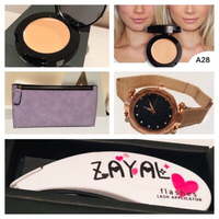 Used Concealer+pouch,ZAYAL LASH TOOL+watch 🎁 in Dubai, UAE