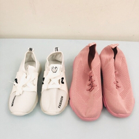 Sports shoes size 29 white & 37 pink