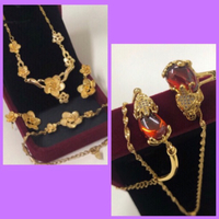 Used Brave Troops/ Floral Design Jewelry Set  in Dubai, UAE