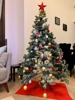 Used Christmas tree with all the decorations  in Dubai, UAE