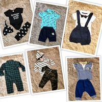Used Patpat baby boy clothes 6-9-12 months  in Dubai, UAE