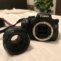 Used Canon EOS 600D + 50mm lens in Dubai, UAE