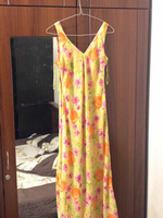 Used KAY UNGER New York chiffon long dress 🌸 in Dubai, UAE