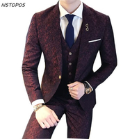 Smart fit coat tie and pant for mid size