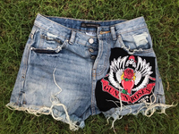 Used Guns 'n Roses DENIM shorts Zara  in Dubai, UAE