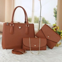 Used PRADA LADIES BAG 3in1 brown  in Dubai, UAE