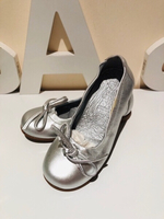 Used Ballerina size EU26 metallic silver  in Dubai, UAE