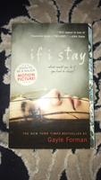Used If I stay popular YA novel paperback  in Dubai, UAE