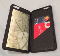 Used iPhone 6 wallet case with mirror and 3card slot in Dubai, UAE
