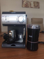 Used Steam Coffee Maker with Bean Ginder in Dubai, UAE