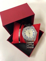 Used Inspired Cartier Watch +Bangle in Dubai, UAE