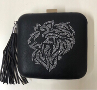 Used Nomada clutch bag / faux leather  in Dubai, UAE