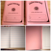 Used Children's 200 pages 6 note books 📖  in Dubai, UAE