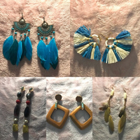 Used Tassel earrings H&M 10pairs in Dubai, UAE