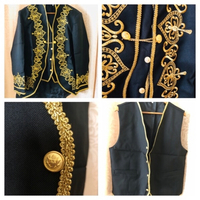 Embroidered men's suit size XL