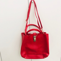 Used Ladies hand bag red in Dubai, UAE