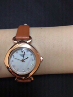 Brown Tissot wristwatch ⌚️ for her
