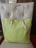 Used AUTHENTIC COACH LEATHER TOTE BAG.. in Dubai, UAE