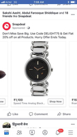 Used Watch for testing don't purchase it in Dubai, UAE