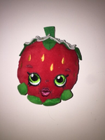 Used Strawberry plushie key chain in Dubai, UAE