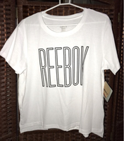 Used REEBOK - White T-shirt  in Dubai, UAE
