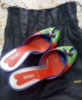 Used Original Fendi Shoe Size 6  in Dubai, UAE