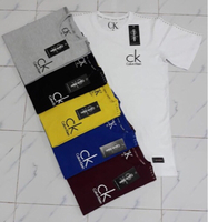 Used CK T-shirt 6pcs Large eid promo in Dubai, UAE