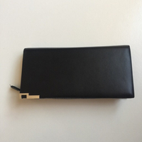 Long black Wallet
