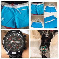 Used Swim shorts XL and watch in Dubai, UAE