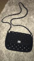 Used Black dainty handbag! in Dubai, UAE
