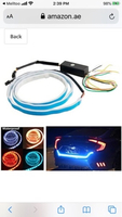 Used LED car turn signal strip 1 pair (23744) in Dubai, UAE