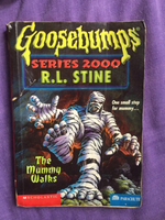 Used Goosebumps The Mummy Walks Storybook in Dubai, UAE