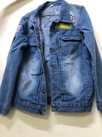 Used men's jeans JacketM in Dubai, UAE