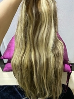 Used Human hair extensions 24/26 inches  in Dubai, UAE