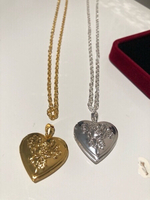 Used Heart DIY photo necklaces 2 pcs  in Dubai, UAE