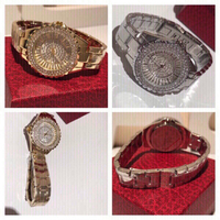 Used 2 Bee sisters watches gold & silver in Dubai, UAE