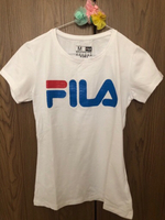 Used Ladies FILA T-Shirt White Medium  in Dubai, UAE