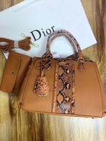 Used DIOR LADIES BAG BROWN  in Dubai, UAE