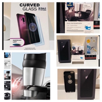 Used iPhone 7 screen Protector cup car holder in Dubai, UAE
