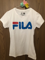 Used Embossed Print FILA T-Shirt🌈Medium in Dubai, UAE